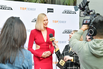 Karlie Kloss Bravo's 'Top Chef' And 'Project Runway' - A Night Of Food And Fashion FYC Red Carpet Event