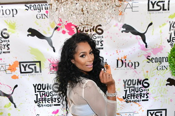 Karlie Redd Young Thug Celebrates 25th Birthday and PUMA AW16 Campaign Release in Atlanta