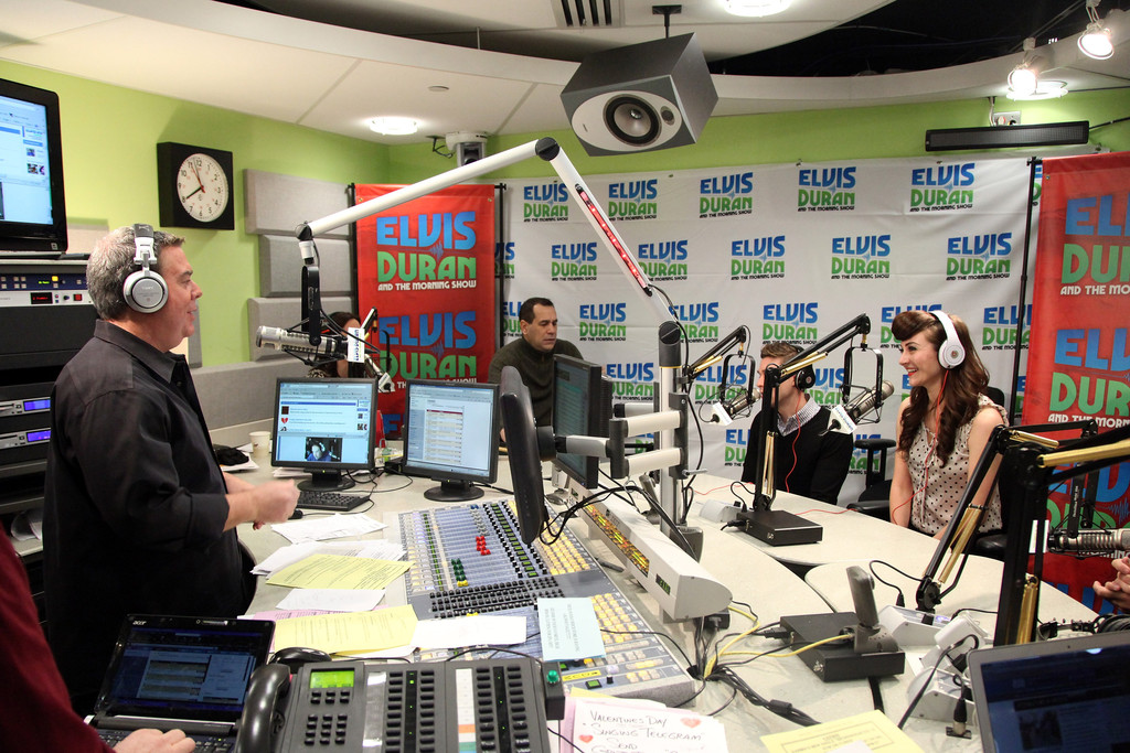 Elvis Duran and Nick Noonan Photos Photos - Karmin Visits ...