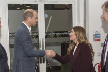 Karren Brady The Duke of Cambridge and Prince Harry Attend the Coach Core Graduation