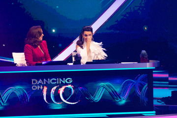 """Katarina Witt Judith Williams """"Dancing On Ice"""" Finals In Cologne"""