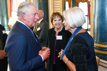 Kate Adie Prince Charles Hosts Reception For Age UK