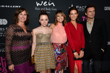 Kate Beckinsale Lily Mo Sheen Elyse Walker Presents The Pink Party 2013 Hosted By Anne Hathaway - Red Carpet