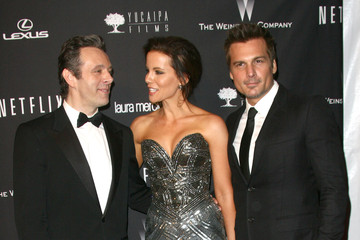 Kate Beckinsale Michael Sheen Arrivals at the Weinstein's Golden Globes Afterparty