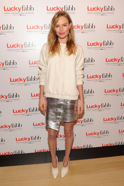 Kate Bosworth - Lucky Magazine's FABB Conference in NYC