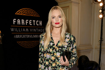 Kate Bosworth Farfetch and William Vintage Celebrate Gianni Versace Archive hosted by Elizabeth Stewart and William Banks-Blaney