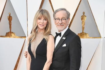 Kate Capshaw Steven Spielberg 90th Annual Academy Awards - Arrivals