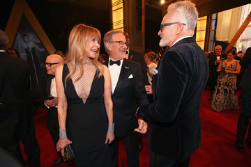 Kate Capshaw Steven Spielberg 90th Annual Academy Awards - Red Carpet