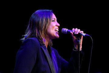 Kate Ceberano Off Court at the 2016 Australian Open