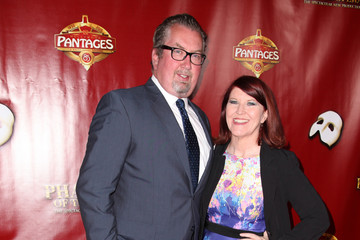 Kate Flannery Red Carpet Opening Night of 'The Phantom of the Opera' at Hollywood Pantages Theatre