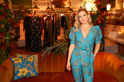 Kate Hudson hosts a cocktail event to celebrate Happy X Nature Eco-Evening Collection at The Butcher's Daughter on December 12, 2019 in Venice, California.