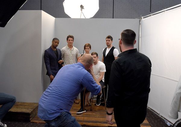 Behind The Scenes of the Getty Images Portrait Studio Powered By Samsung Galaxy At Comic-Con International 2015