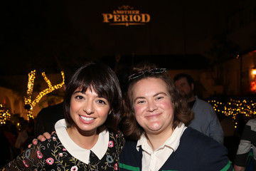 Kate Micucci Comedy Central's Another Period Premiere Party Event