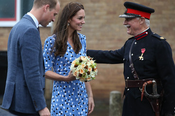 Kate Middleton The Duke & Duchess Of Cambridge Visits Stewards Academy With Heads Together