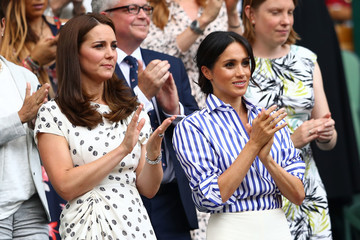 Kate Middleton Day Twelve: The Championships - Wimbledon 2018