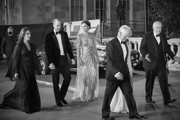 """Kate Middleton Camilla Parker Bowles """"No Time To Die"""" World Premiere - Red Carpet Arrivals"""