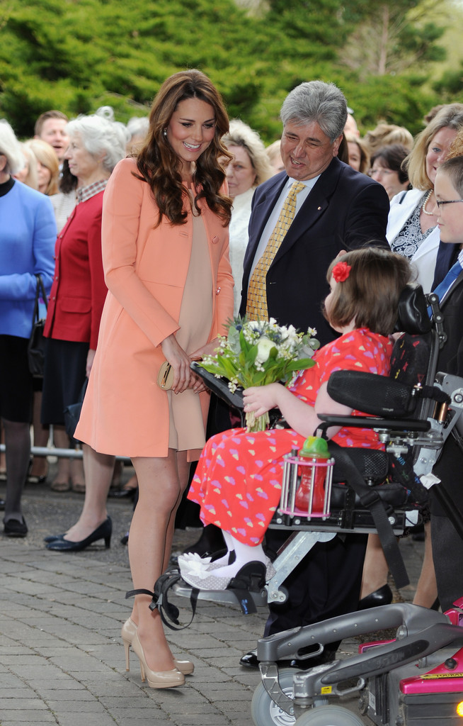 Kate Middleton Gets Her First Solo TV Broadcast [VIDEO]