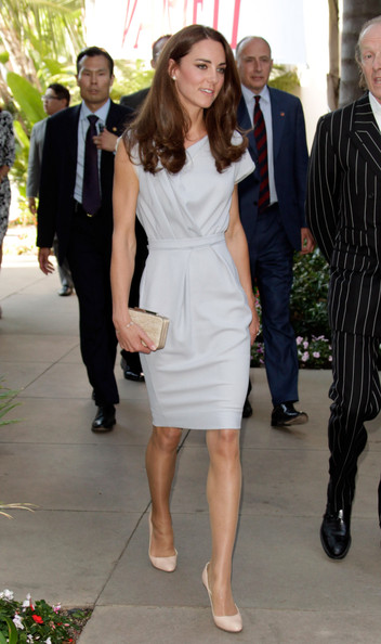 Kate Middleton Catherine, Duchess of Cambridge attends Variety's Venture Capital and New Media Summit during their North American Royal visit held at The Beverly Hilton hotel on July 8, 2011 in Beverly Hills, California.