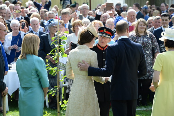 The Duke And Duchess Of Cambridge Attend The Secretary Of State For Northern Ireland's Garden Party