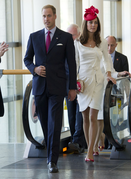 The Duke And Duchess Of Cambridge Canadian Tour - Day 2