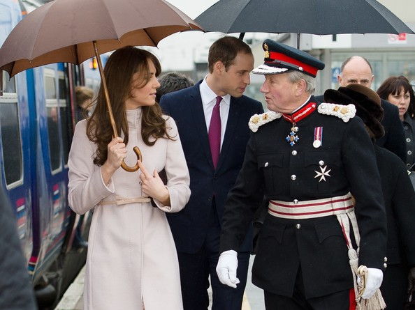 Kate Middleton - The Duke And Duchess Of Cambridge Make An Official Visit To Cambridge