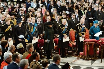 Kate Middleton Prince Philip A Service of Commemoration for Troops in Afghanistan — Part 2