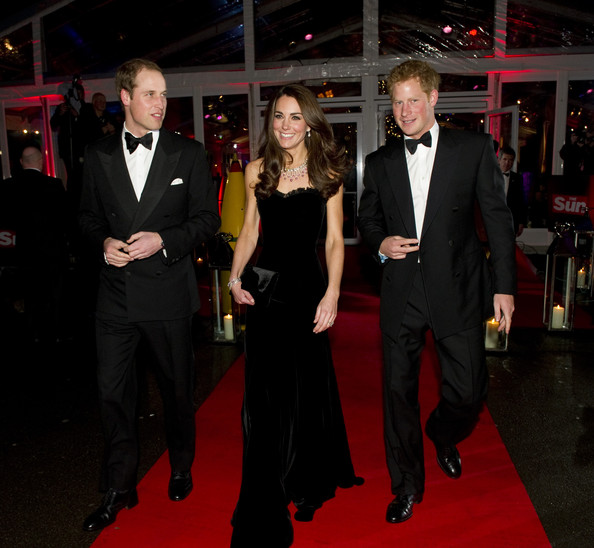 Kate+Middleton in Kate Middleton and Prince William Out in London