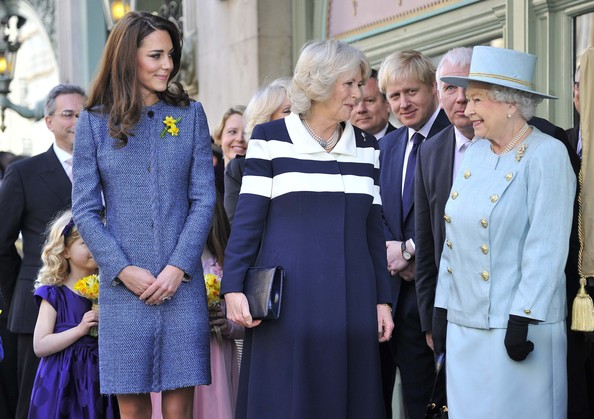 Kate Middleton - Queen Elizabeth II, Duchess Of Cornwall And The Duchess Of Cambridge Visit Fortnum And Mason Store