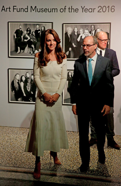 The Duchess Of Cambridge Presents The Art Fund Museum Of The Year 2016 Prize