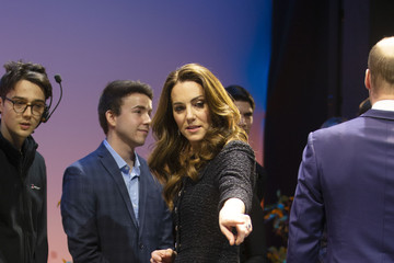 """Kate Middleton The Duke And Duchess Of Cambridge Attend A Charity Performance Of """"Dear Evan Hansen"""""""