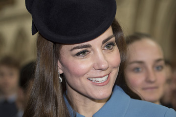 Kate Middleton Duchess of Cambridge Marks 75th Anniversary of RAF Air Cadets
