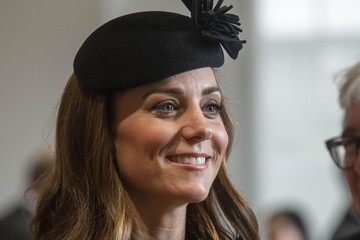 Kate Middleton Queen Elizabeth II And The Duchess Of Cambridge Visit King's College London