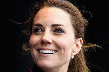 Kate Middleton The Duke and Duchess of Cambridge Attend the America's Cup World Series