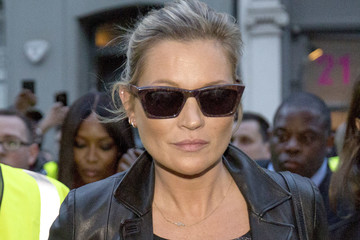 Kate Moss Street Style: Day 2 - LFW September 2017