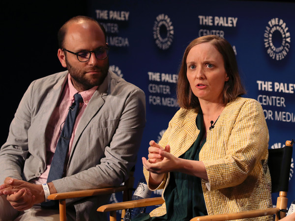 The Paley Center For Media's 2019 PaleyFest Fall TV Previews - Amazon - Inside [paleyfest fall tv previews - amazon - inside,event,news conference,conversation,spokesperson,convention,employment,kate purdy of undone,raphael bob-waksberg,stage,the paley center for media,beverly hills,california,paley center for media,l,amazon]