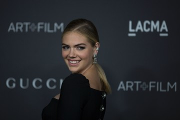Kate Upton 2016 LACMA Art + Film Gala Honoring Robert Irwin and Kathryn Bigelow Presented by Gucci  - Arrivals