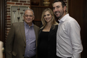 Kate Upton Kate Upton & Justin Verlander Host Reception For Grand Slam Adoption Event And Wins For Warriors Foundation To Raise Funds For Adoptable Dogs To Become Service Animals For Military Veterans