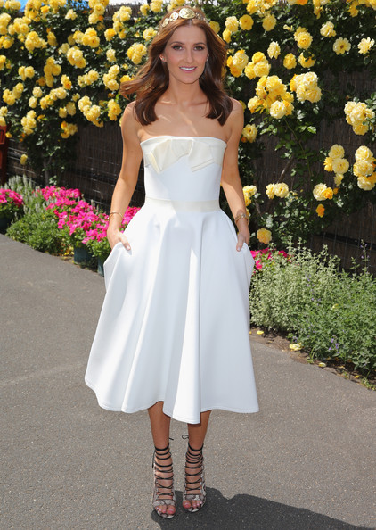 Kate Waterhouse Kate Waterhouse attends on Derby Day at Flemington Racecourse on November 1, 2014 in Melbourne, Australia.