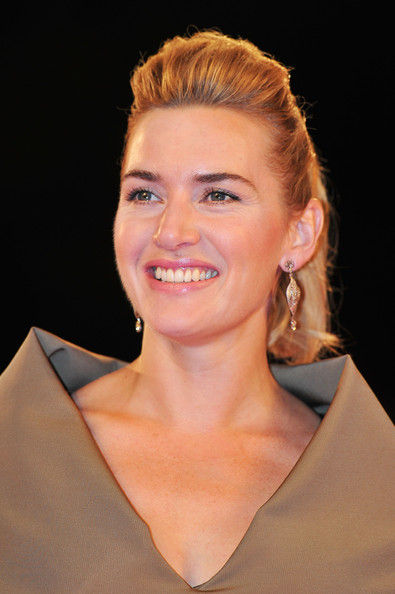 "Kate Winslet Actress Kate Winslet attends the ""Carnage"" premiere at the Palazzo Del Cinema during the 68th Venice Film Festival on September 1, 2011 in Venice, Italy."