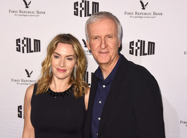 SFFILM's 60th Anniversary Awards Night - Arrivals [premiere,fashion,event,carpet,little black dress,flooring,award,style,james cameron,kate winslet,palace of fine arts theatre,california,san francisco,sffilm,60th anniversary awards night - arrivals,60th anniversary awards night]