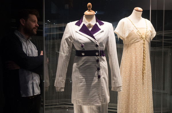 Titanic Voices Exhibitions Opens In Falmouth [film,clothing,fashion,dress,outerwear,fashion design,costume design,uniform,robe,costume,dresses,kate winslet,man,myths,role,falmouth,national maritime museum cornwall,exhibition,titanic voices exhibitions]