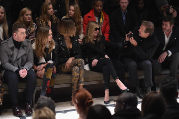 Kate Burberry Prorsum AW 2015 Front Row And Show