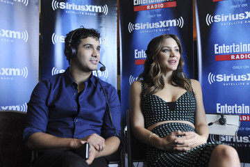 Katharine McPhee Elyes Gabel SiriusXM's Entertainment Weekly Radio Channel Broadcasts From Comic-Con 2015