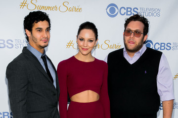 Katharine McPhee Elyes Gabel CBS Television Studios 3rd Annual Summer Soiree Party - Arrivals