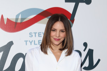 Katharine McPhee Steven Tyler And Live Nation Presents Inaugural Janie's FundGala & GRAMMY Viewing Party