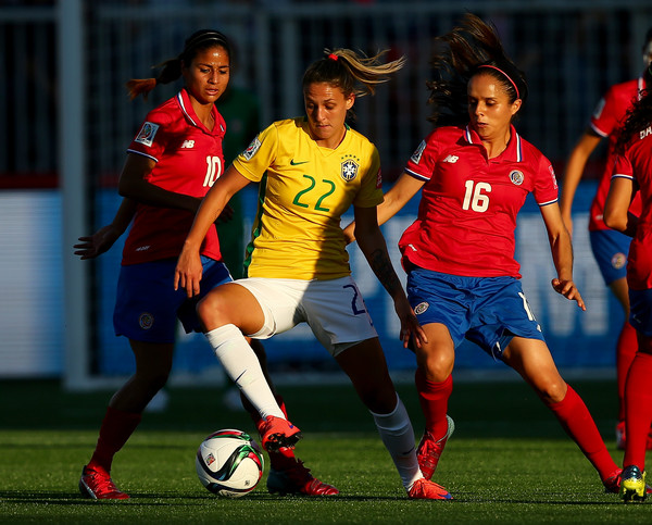 Costa Rica v Brazil: Group E - FIFA Women's World Cup 2015