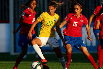 Katherine Alvarado Costa Rica v Brazil: Group E - FIFA Women's World Cup 2015