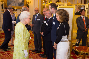 Katherine Courtney Guests Attend the Queen's Awards for Enterprise 2015 Reception
