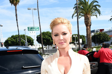 Katherine Heigl Audi Arrivals at the 66th Primetime Emmy Awards