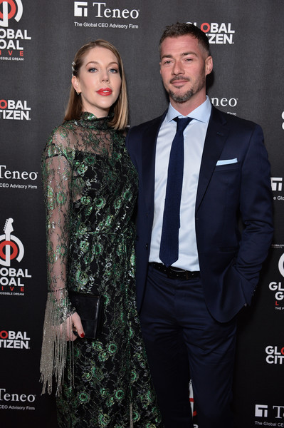 2019 Global Citizen Prize at The Royal Albert Hall - Red Carpet [premiere,fashion,suit,event,dress,formal wear,carpet,tuxedo,style,bobby kootstra,katherine ryan,global citizen prize,royal albert hall,england,london,red carpet]